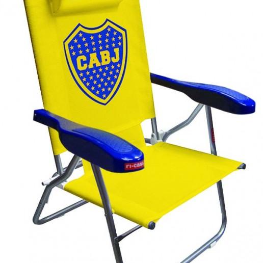 Reposera Boca Juniors Sillon
