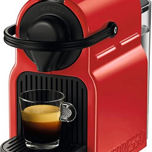 Cafetera Inissia Nespresso Red
